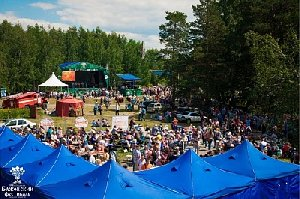 Представители Нагайбакского района участвуют в Бажовском фестивале