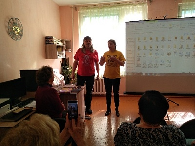 Нагайбакская центральная библиотека встречала гостей из Карелии